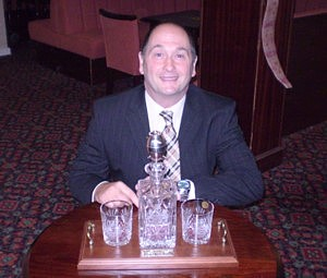 Nick Smith and his MW decanter set