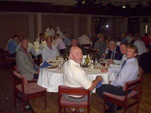 Some of the diners at the reunion