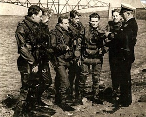 50th MSF Diving Team (normally embarked in HMS Diver)