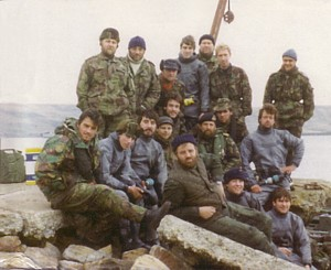 FCDT 3 in the Falklands 1982
