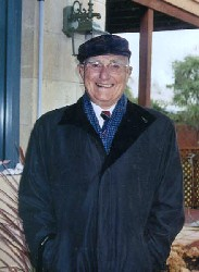George Wookey at home in Australia in June 2005