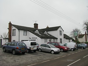 Ginger's old pub, The Willows in Cressing