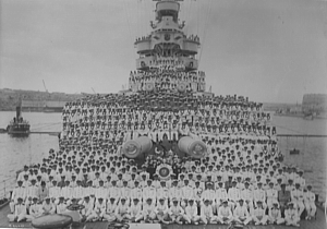 HMS Barham and her Ship's Company (date unknown)