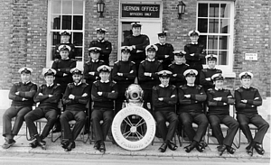 HMS Vernon Diving Training Section c.1981