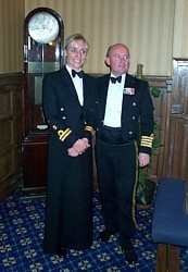 Jan Ouvry with MCDOA President Colin Welborn in Nov 2006