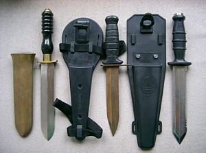 John Wilkins' clearance diving knives