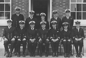 1969 RN Long Minewarfare & Clearance Diving Officers' Course in 1969