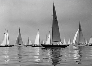 Windfall yacht See Otter at Kiel Regatta in 1936