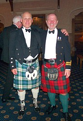 Terry Digges with Bill Kerr at MCDOA Annual Dinner in Nov 2005