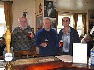 Barlow, Holloway and Hoole conducting research for the MCDOA's benefit